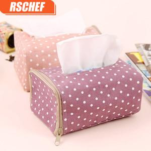 RSCHEF outils Accueil Utilisez tissu Tissue Box Design moderne en bois massif serviette boîtier Taille simple et élégant 12 * 19 * 9.5CM