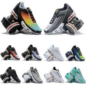 2019 Tn Plus III 3 Running Shoes TUNED Gradient Orange Vintage Black Triple White 3s Sport Shock jogging OG Sneakers mens trainers