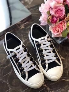 Trendy pattini casuali delle donne di lusso francese marche di design delle scarpe da tennis Tempo libero Athletic fitness Stampato tempo libero tela Scarpe da ginnastica