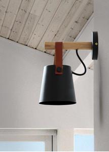 Americano Criação Rural Nordic simples Estudo Corredor cabeceira Cafe Entrada Varanda Iron Belt Wall Lamp