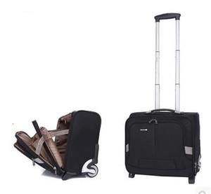 Bagages Sac Voyage Hommes d'affaires Trolley sacs à roulettes Sac Hommes Voyage Bagages Case Oxford Valise pour ordinateur portable Sacs roulant sur Roues CJ191128