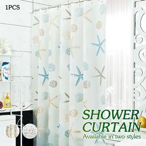 Starfish Curtain insieme lussuoso Shower Curtain Girasole impermeabile Home Decor 3D poliestere Tema Bagno Tarfish Curtain