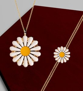 Women Custom Caricature Of Cup Floral Mirror Daisy Necklace Bracelet set-7 Other Festive Party Supplies