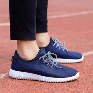 Frühlings-Herren-Schuhe fliegen Weben atmungs Kokosnuss niedrige Spitze koreanischen Trend Schuhe Liebhaber beiläufige laufende Turnschuhe