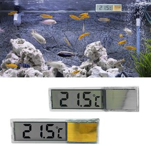 new lcd 3d digital aquarium thermometer measure water temperature household fish farming supplies with button batteriesj7 pet products