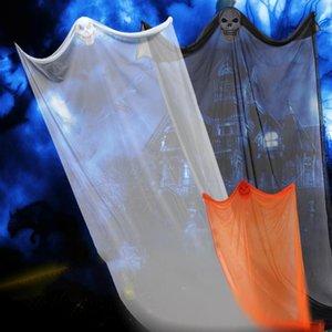 Хэллоуин призрак фестиваль украшения ужасы реквизит для баров КТВ торговый центр супермаркет дом с привидениями висит призраки Хэллоуин украшения партии