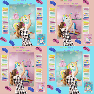 Licorne Autocollant Creative Portable Plusieurs Couleurs Paster Enfants Jouets Pâte À Gâter Game Stick Papiers Usine Vente Directe 9gha p1