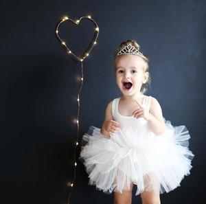 2 colors girls ballet skirt baby girl vest tutu skirt kids girls princes dresses dancewear kids dresses