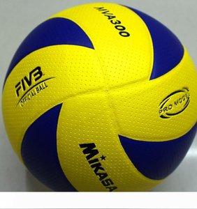 tamanho 5 oficial Voleibol PU Soft Touch Tamanho padrão MVA 300 voleibol, voleibol de praia 2017 Competição Professional Volleyball