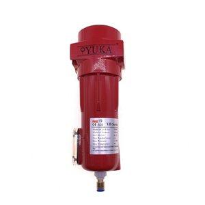 Spedizione gratuita 1.0-1.8m3 / min 2 pz / lotto rosso filtro elemento filtrante YD030 / YD017 YUKA marca filtro di post-trattamento con Rc1 / 2 ''