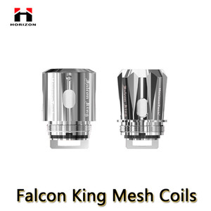 Rallonges Falcon King M1 + 0.16ohm M-Dual 0.38ohm King pour les atomiseurs de réservoir Horizon Falcon SubOhm 3pcs / pack 100% authentique