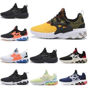 Nike presto shoes running chaussures triple noir Jaune Noir Rouge Psychedelic Lava Black Blue chaussures de sport pour femmes sneaker