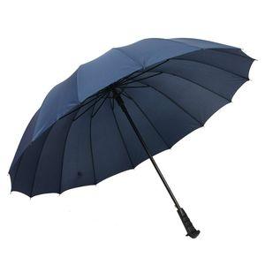 Große Durable windundurchlässige Regenschirm Stiel Regenbogen-Regenschirm Automatische Sunny Rainy Regenschirm Anpassbare Werbung Regenschirme VT0483