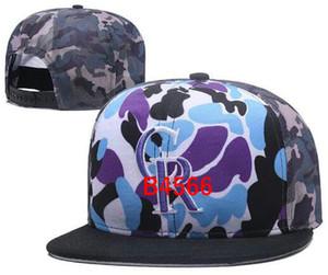 2019 лучшее качество Snapback Rockies Hat CR Cap Регулируемые бейсбольные кепки Snapbacks Strapback Golf Casquette Спортивная кепка мужчины женщины кость