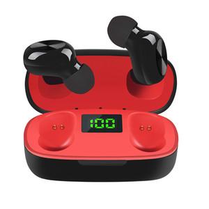Wireless auricolari Bluetooth 5.0 auricolare TWS Control Display digitale magnetico P10 tocco cuffia auricolare Vita impermeabile con microfono per iPhone