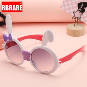 de RBRARE Adorável Crianças Sunglasses Meninas Meninos bonitos Sun dos desenhos animados Óculos For Kids Sunglasses Lunette De Soleil Femme UV400