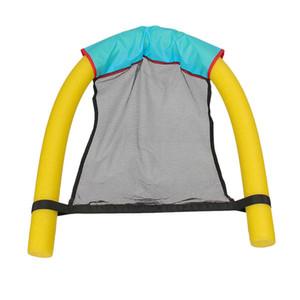 Forte-Toyers piscina galleggiante nuoto Seats Amazing Bed Noodle Sedie netto anello di nuoto del bastone piscina Fun sedia Accessori