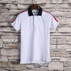 2020 Hot vente de luxe de coton Polo Chemises Homme High Street Fashion Little Bee Imprimer Mens Desginer Marque Polos Polo t-shirt