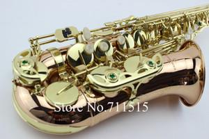 Янагисава A-992 высокого качества Phosphor Bronze Саксофон альт Музыкальные инструменты Eb Tone Золотой лак E Flat Sax с Case мундштук