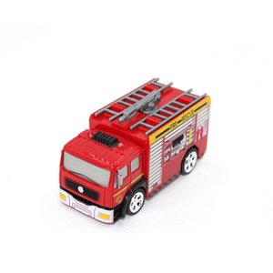 RC 1:58 mini remote control fire truck fireman model oil tanker boy Car children education toy gift 2 types Y200414