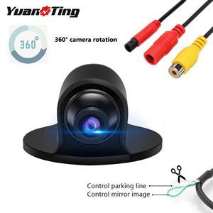 YuanTing Rotatable Rear Front Side View HD Color CMOS Wired Car Vehicle Auto Night Vision Reversing Backup Camera