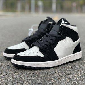 Spor Sneakers ile En Çok Satan Moda Trend Ayakkabı Erkek ve Kadın Lüks Designer için en iyi kalite Mid BHM EŞİTLİK 1S Basketbol Ayakkabı