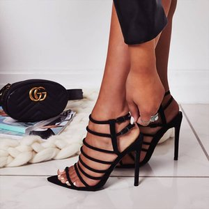 Yes Sandals Year Fasciola Fine With Hasp Chaussures à talons hauts pour femmes Fashion2019 Do 40 Code