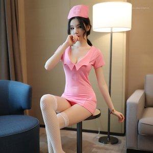 Erotische Wäsche-Frauen-Unterwäsche Sexy Set Damen Designerkleidung für neue beiläufige Art und Weise Leidenschaft Damenmode Krankenschwester