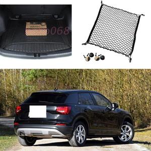 1x Für AUDI Q2 Auto Auto modell Schwarz Kofferraum Cargo Organizer Lagerung Nylon Net Plain