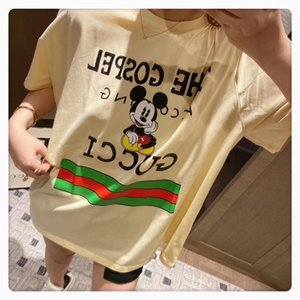 spring women short-sleeved 2020 high-quality and summer fashion T-shirt casual and comfortable women clothing XD89