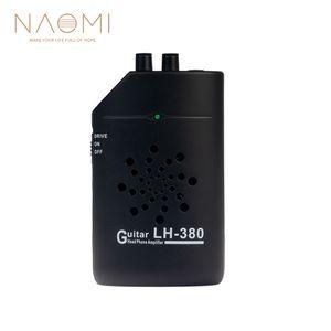 NAOMI LH-380 Mini Amplificateur de Guitare Tête Amplificateur de Téléphone Portable Pratique de la Guitare Pièces de Guitare Accessoires Noir Nouveau