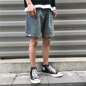 Men's Shorts Jeans Denim Pants Summer Loose Straight Korean Version Casual Pants Fashion