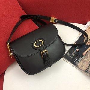 nouveau sacs de selle de dame design avec ceinture véritable sacs seau en cuir véritable épaule sacs crossbody de haute qualité