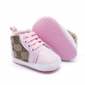 Baby Sneaker Chaussures Toddler Enfant Unisexe Garçons Filles Soft Pu Cuir Moccasins Fille Bébé Boy Chaussures