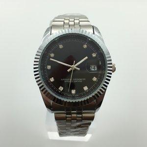 Dois hot-selling de aço inoxidável A top fashion masculino relógio designer de quartzo popular relógio de diamantes dos homens de negócios de luxo assistir reloj muje