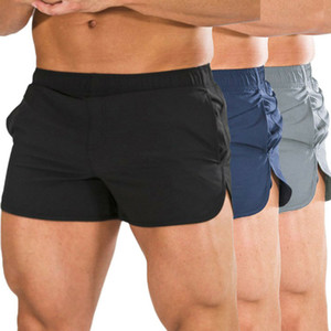 Hommes Jogging Shorts de sport respirante Gym Fitness Workout Pants