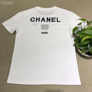 Mensentwerfer T-Shirts mit Rundhalsausschnitt kurze Ärmel 1305 Frauen Designer-T-Shirts Damen Marke Männer T-Shirt Druck hochwertige Baumwolle 2019 Sommer