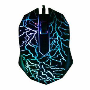 Fareler Kablolu 3D Bilgisayar Gaming Mouse profesyonel oyun için arkadan aydınlatmalı ve ergonomi tasarım Oyun Fare LED 3bright renklerle fare LOL CS