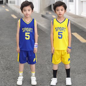 Teenager Boy Basketball Set da calcio 2019 Baby Boy Football Tshirt + Pantaloncini sportivi Uniform Teens Jogging Abbigliamento Set completo