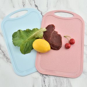1Pcs Plastic Chopping Board Non-slip Frosted Kitchen Cutting Board Kitchen Accessories Cooking Supplies Plastic Mini Chopping Bo