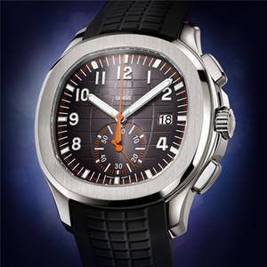 Nautilus Часы 5968A Patak бренда роскошные часы часы 43мм кварц моды бренд мужской Relogio марки наручных часов