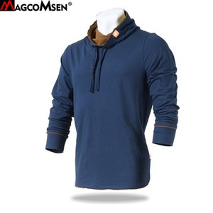 MAGCOMSEN Men Long Sleeve T-shirts Casual 100% Cotton Function Tactical T-shirts Military Army Combat Tee Shirts Tops AG-JZS-01 T5190617