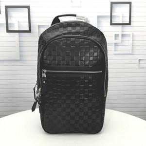 Travel Bag Top Quality Backpack Marca Designer Carry On Mochila Mens Fashion school bolsas de luxo, Preto
