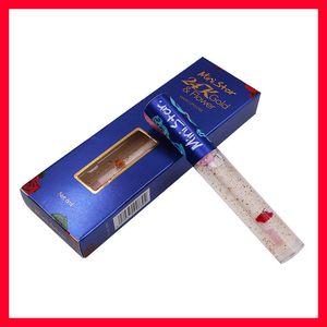 Lip makeup Ministar 24K gold & Flower Magic Lip gloss Long Lasting Plumping liquid lipstick Lips Makeup Lipgloss free shipping