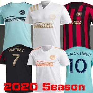 2019 camisas de futebol Atlanta United Parley 2020 BARCO # 8 MARTíNEZ Atlanta unidos MLS negociar Espírito azul camisa camisa de futebol para os oceanos