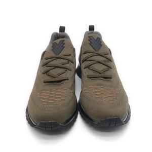 2019 Vnr Koşucu Moda ayakkabı tasarımcı lüks spor ayakkabı turuncu kutu ile erkekler boyutu us7-us11 adam sneaker primeknit koşucu ayakkabı