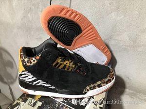 2020 Últimas qualidade 3s Couro Animal Instinct Pacote mens tênis de basquete Tinker 11 baixas em branco parece Bred Nos Pés trainers sneakers s