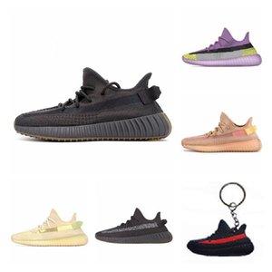 RRefectiveefective Yecheil Desigmor Barro Vermelho estático Running Shoes Hyperspace verdadeira forma Black Top Amarelo Qualidade Sneakers Homens Mulheres J # 006332