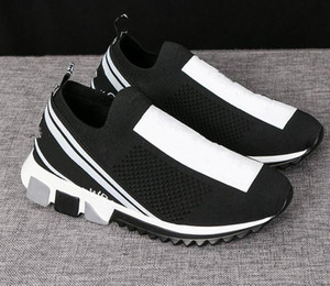 Clássica Design Menino homem menina mulheres Meias sapatos amantes ins elásticas tênis conforto respirável casuais sapatos EUR 35-45