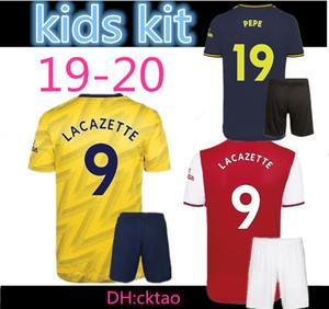 kids kit 2019 2020 Arsena sleeve Soccer Jerseys WILSHERE RAMSEY SUAREZ Kieran Tierney Leno goalkeeper 19 20 football full shirt